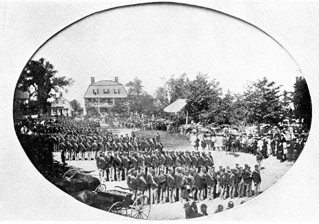 Litchfield presentation of colors, 1862