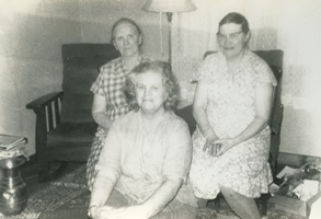 the three Seger women, 1960s